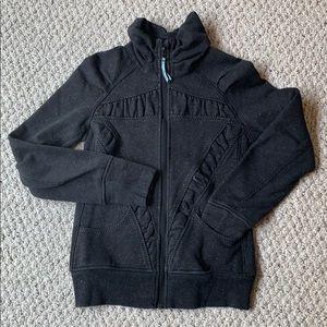 Ivivva zip front sweatshirt